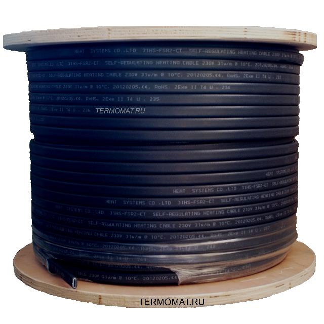Саморегулирующийся кабель HS-SRL-2CR 24W