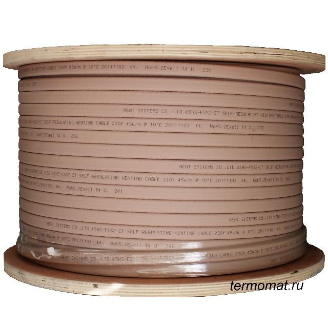 Саморегулирующийся кабель HS-FSS2-CT 45W