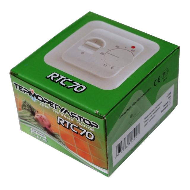Терморегулятор RTC 70.26 упаковка